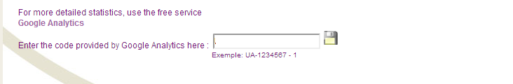 Analytics-insert tracking ID